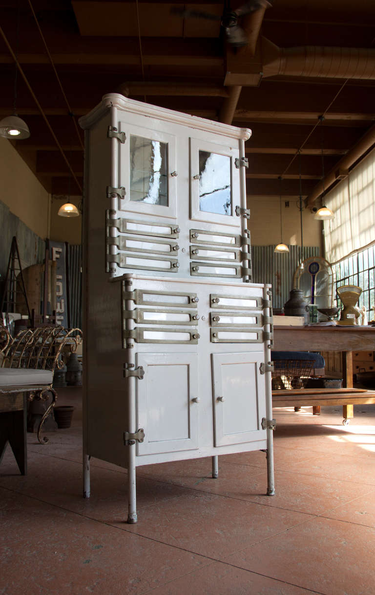 Early 20th Century American Dental Cabinet At 1stdibs