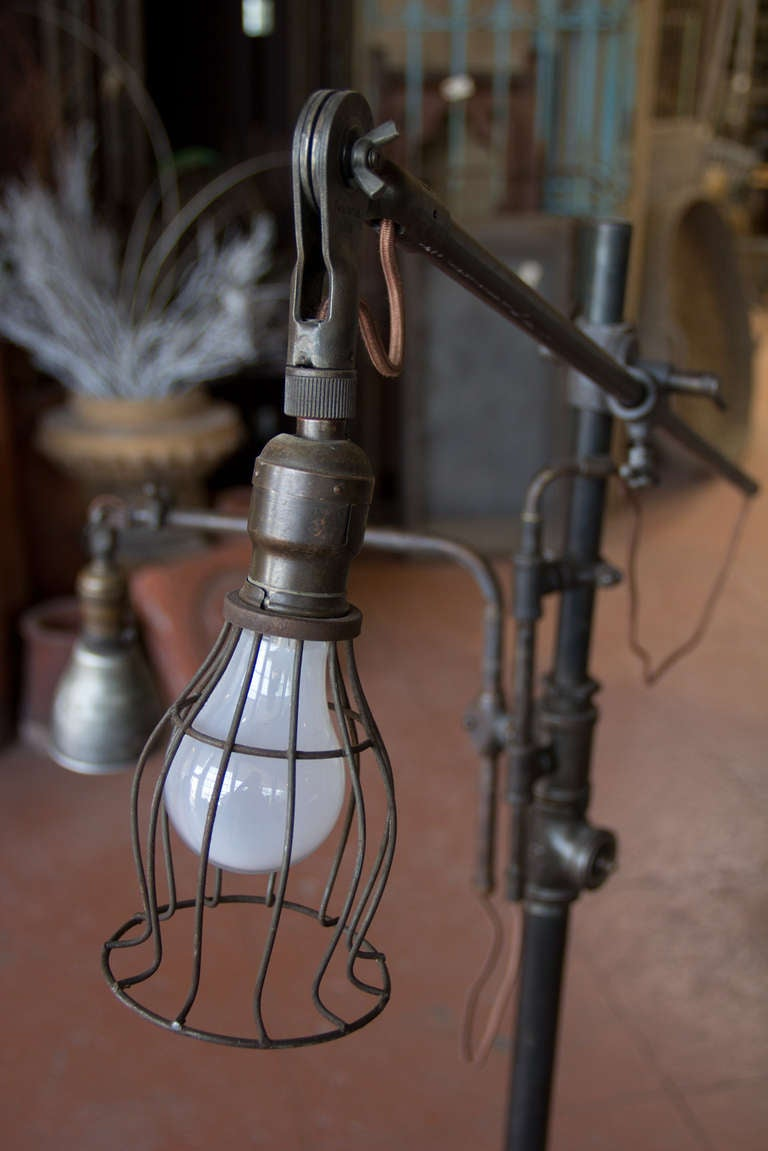 Steampunk Floor Lamp At 1stdibs