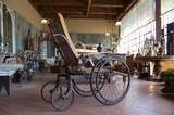 Antique Wooden Wheelchair image 4