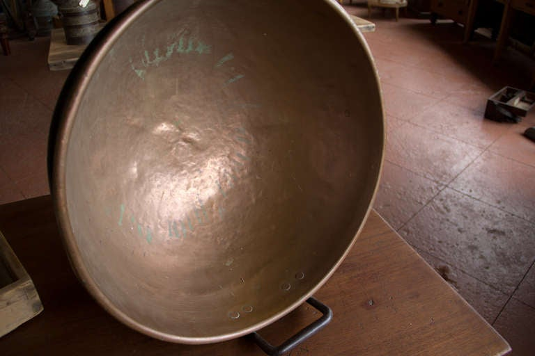 Antique Copper Boiling Pot At 1stdibs