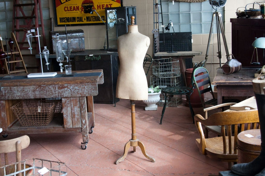 Antique French Couture Mannequin 2