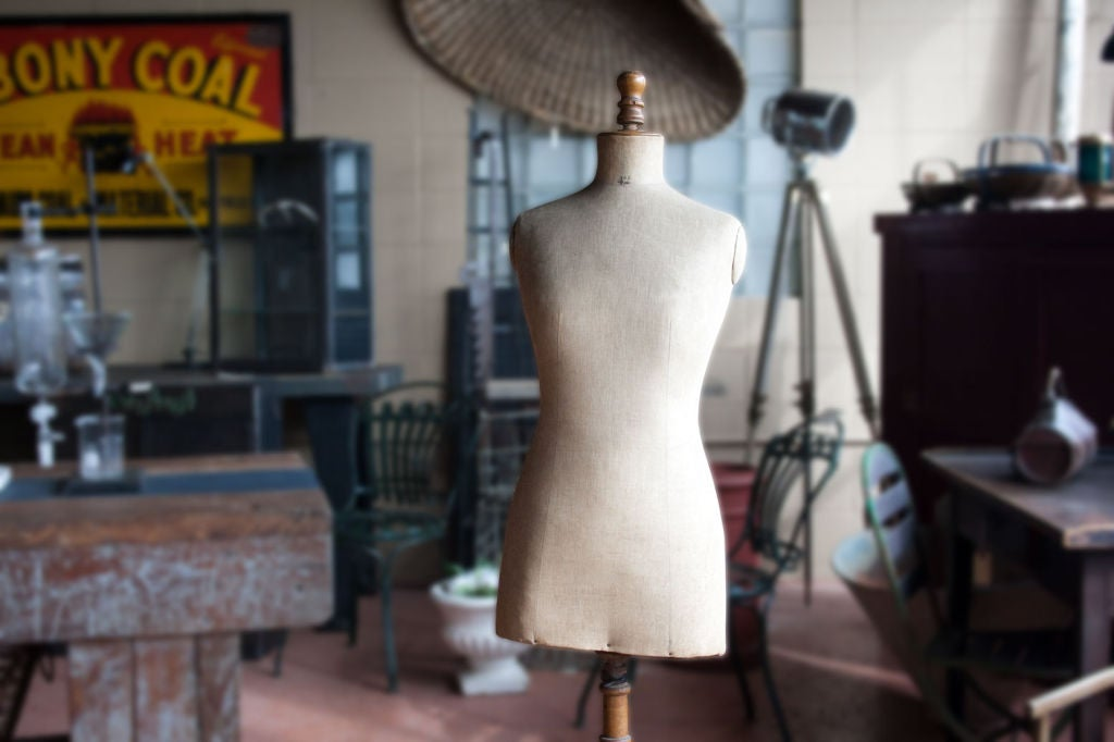 Antique French Couture Mannequin 3