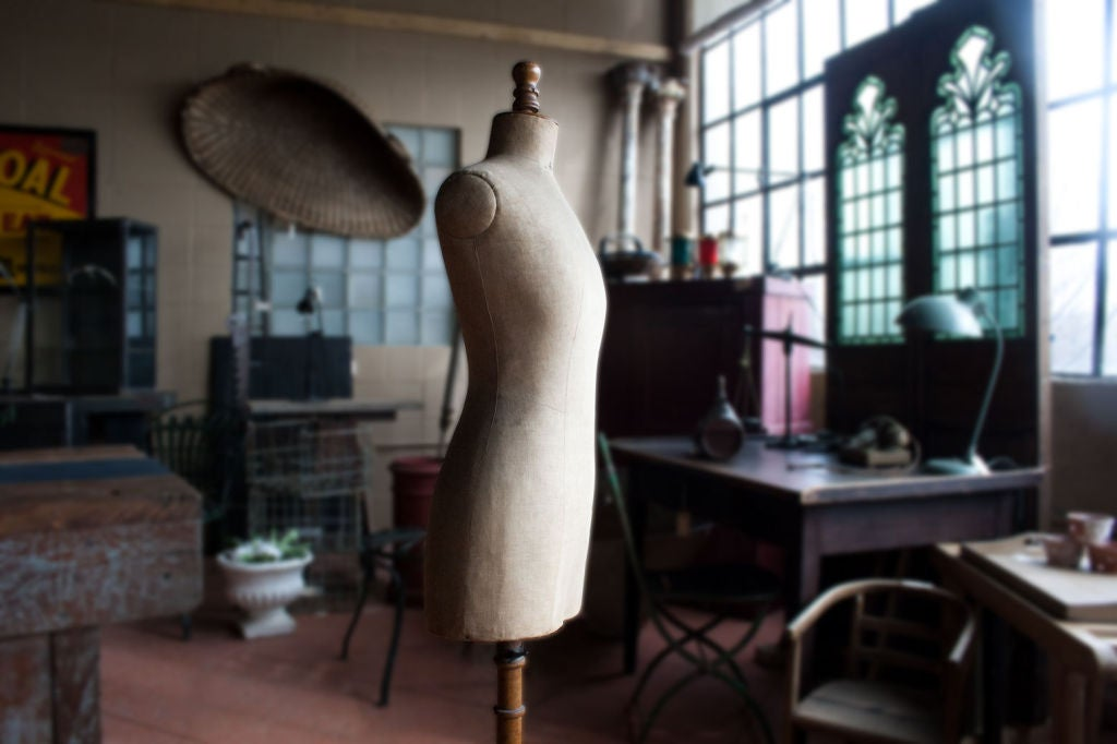 Antique French Couture Mannequin 5