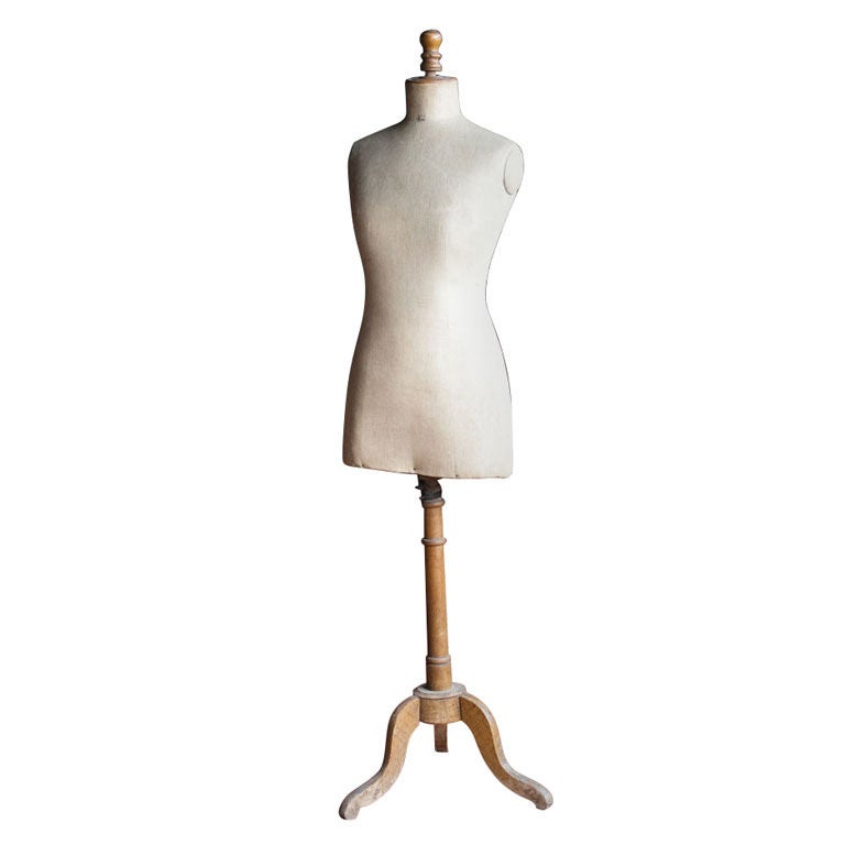 Antique French Couture Mannequin