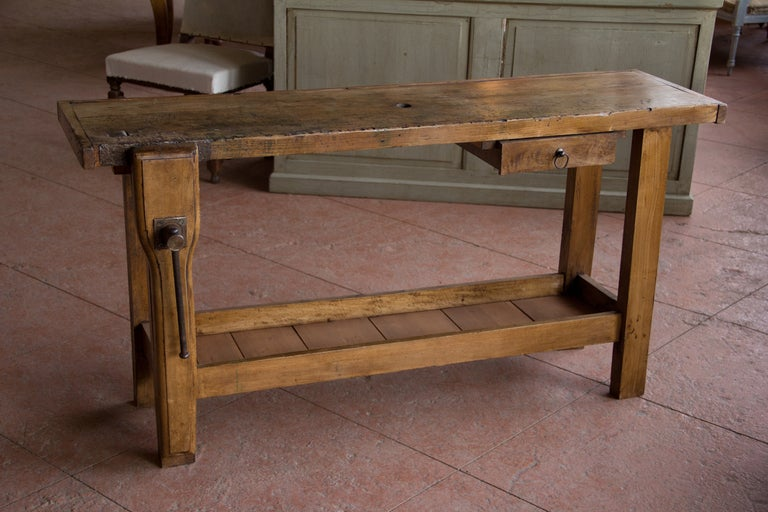 Antique French Carpenter S Bench At 1stdibs