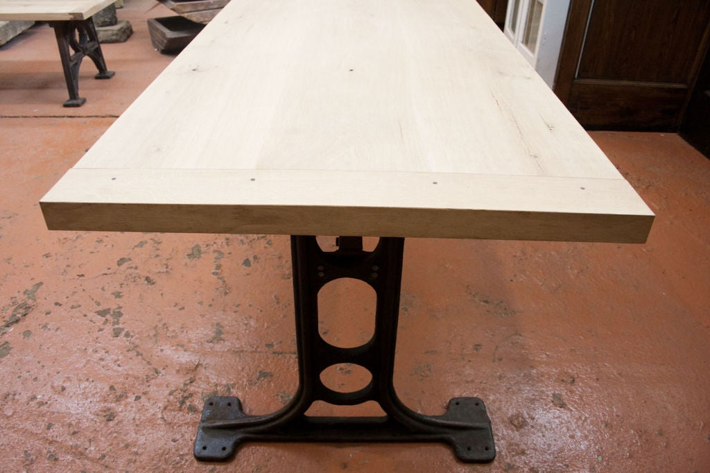 this industrial dining room table is no longer available