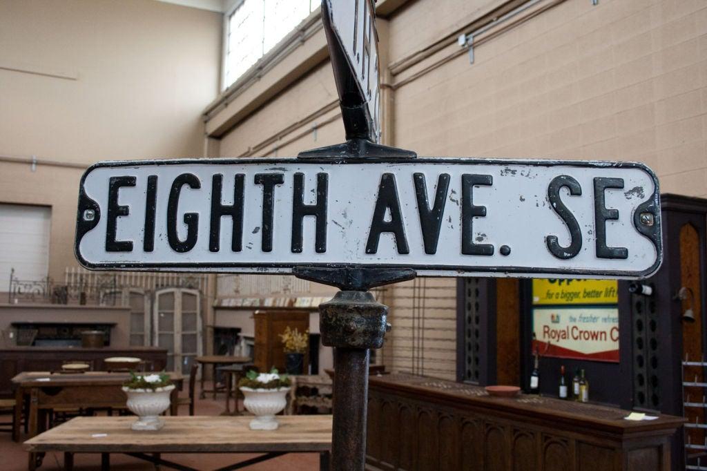 Vintage American Street Sign At 1stdibs