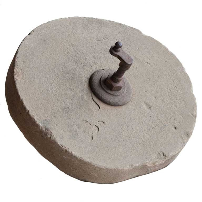 Antique Stone Grinding Wheel For