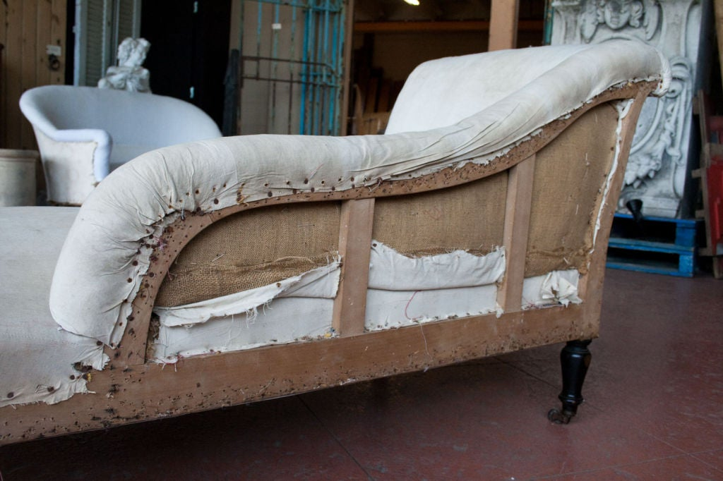 Antique french petite chaise at 1stdibs for Chaise antique furniture