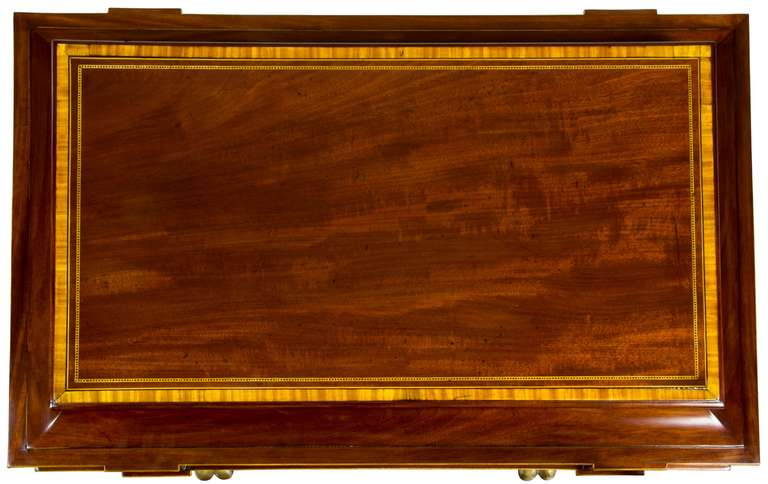 Magnificent Regency Mahogany Cellaret For Sale 1