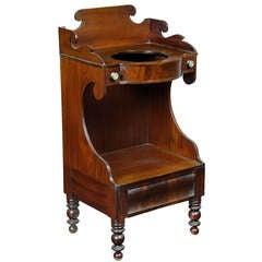 Classical Mahogany Washstand, Possibly Providence, circa 1835-1840