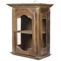Provincial Walnut Cooling Cabinet