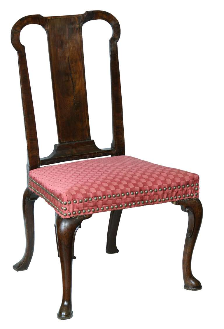 Mahogany Queen Anne Side Chair, England, circa 1740 For Sale at ...