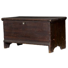 Diminutive Blanket Chest, Mid-19th Century