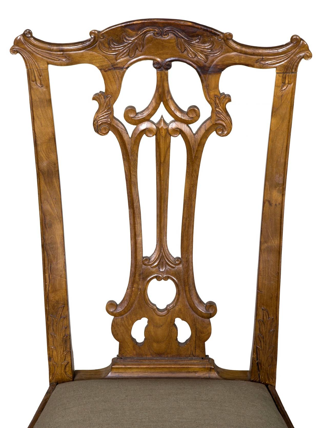 These Chairs Are Some Of The Finest Carved Portuguese Colonial Extant Note Strongly