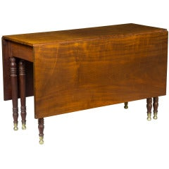 Sheraton Mahogany Dining Table, New York, circa 1810