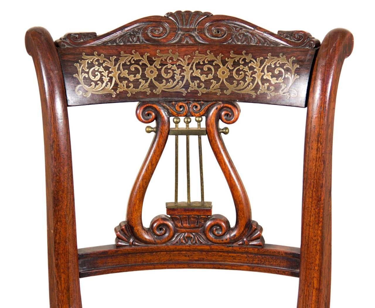 Rosewood Classical Piano Stool Or Dressing Table Seat