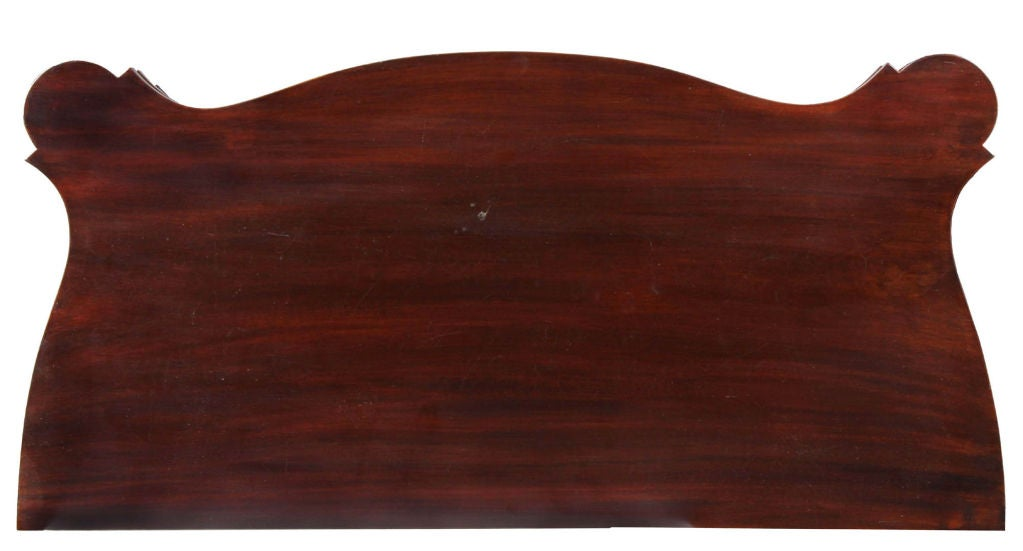 American Federal Mahogany Card Table, Salem, McIntyre School For Sale