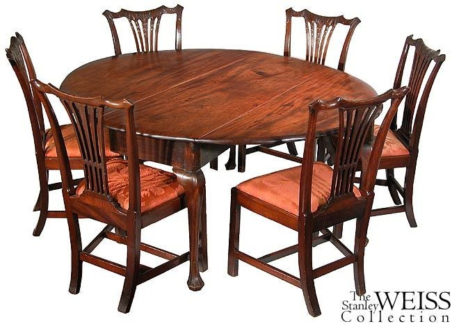 Set of Six Carved Mahogany Chippendale Side Chairs, Philadelphia, circa 1780 For Sale 1