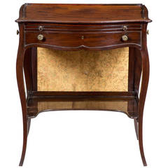 George III Mahogany Ladies' Writing Desk, circa 1760-1770