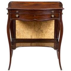 George III Mahogany Ladies' Writing Desk, circa 1760-1770