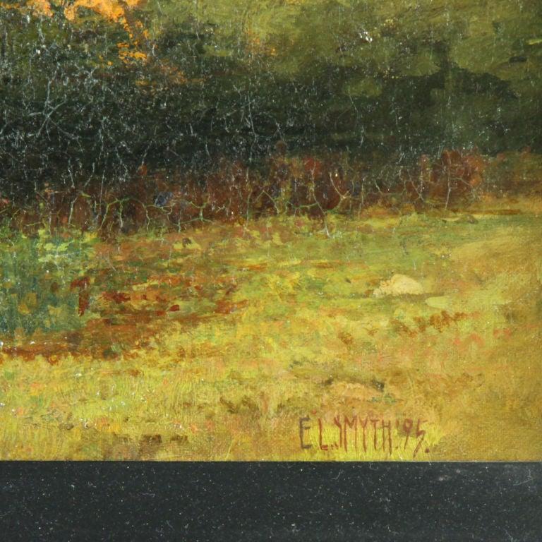 American Landscape, Forest Scene, Eugene Leslie Smyth For Sale