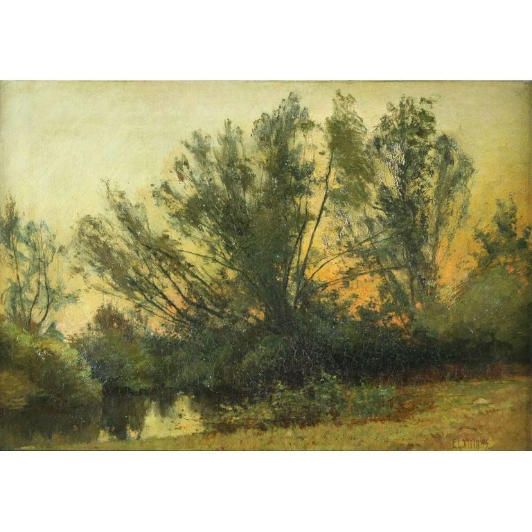 Landscape, Forest Scene, Eugene Leslie Smyth For Sale