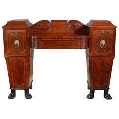 Diminutive Regency Mahogany Sideboard
