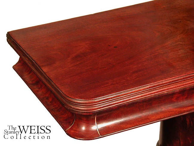 Mahogany Classical Card Table with