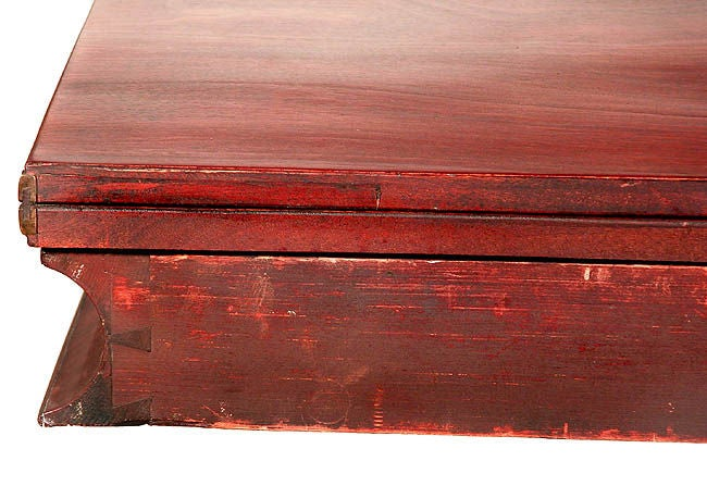 19th Century Mahogany Classical Card Table with
