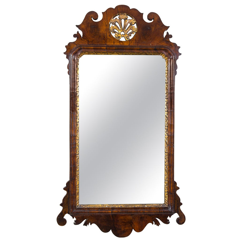 Fine queen anne walnut mirror england circa 1720 for for Mirrors for sale