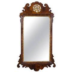 Fine Queen Anne Walnut Mirror, England, circa 1720