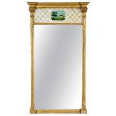 Gilt Federal Mirror, New England, circa 1800-1810