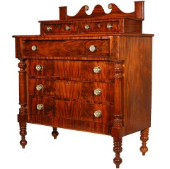 Mahogany Country Empire Bureau