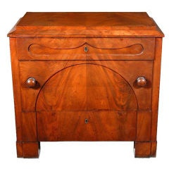 Fine Mahogany Biedermeier Chest of Small Size