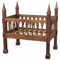 Gothic Crib, Black Walnut, United States, circa 1835-1845