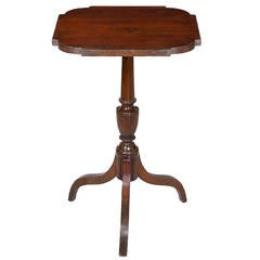 Federal Mahogany Tripod Table, Attributed to Duncan Phyfe, NY, circa 1810