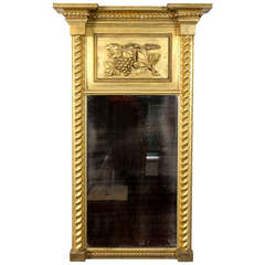 Carved Federal Gilt Mirror, circa 1810