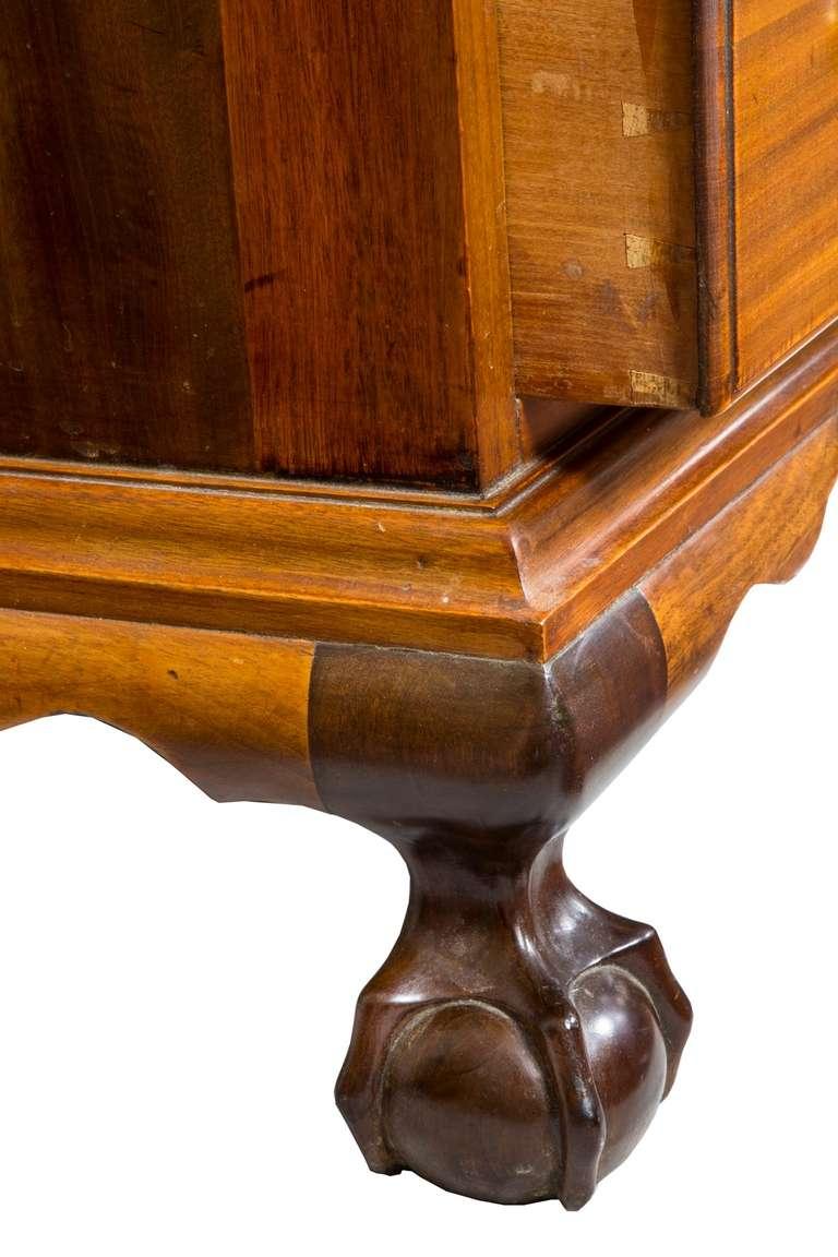 Mahogany Chippendale Slant Top Desk New York Ernest