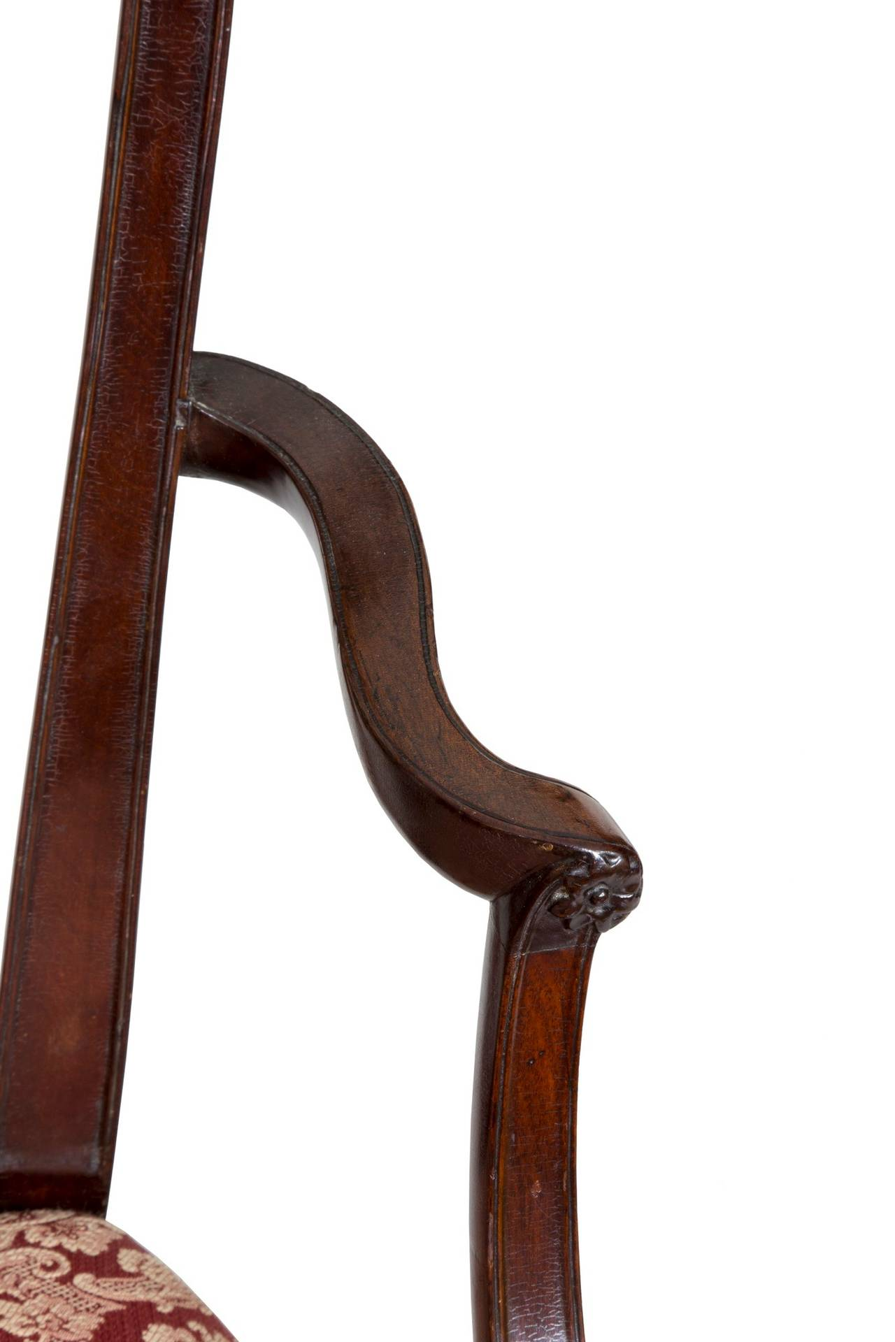 Hepplewhite Shield Back Armchair, Mahogany, New York, circa 1790 For Sale 1