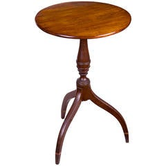 Federal Candlestand, Seymour School, Boston, circa 1810