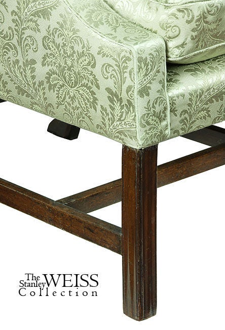 Small Scale Chippendale Mahogany Camelback Sofa At 1stdibs