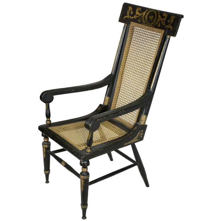 Classical Painted Armchair, Baltimore, circa 1820 For Sale