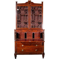 Federal Secretaire With Drop Front Desk Drawer, Baltimore