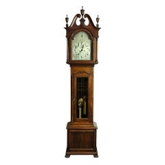 Mahogany Tall Case Clock - Chippendale Style by Shreve, Crump & Low