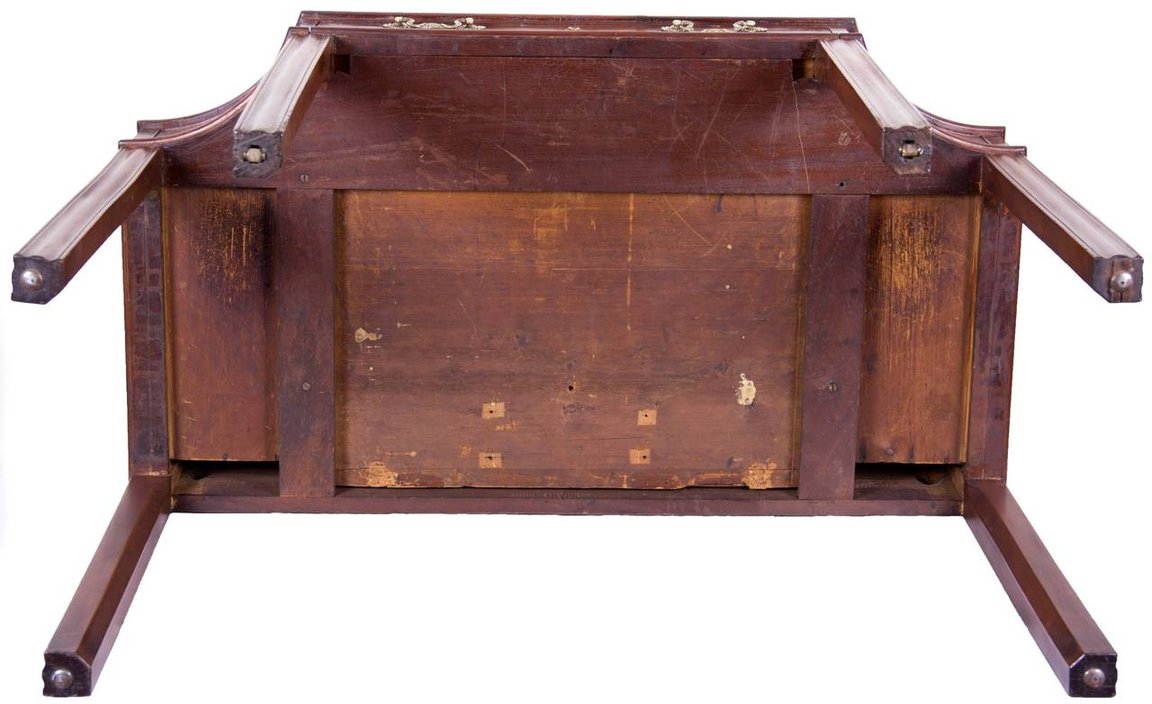 Late 18th Century Mahogany George III Console Table / Telescopic Reading Table, circa 1790 For Sale