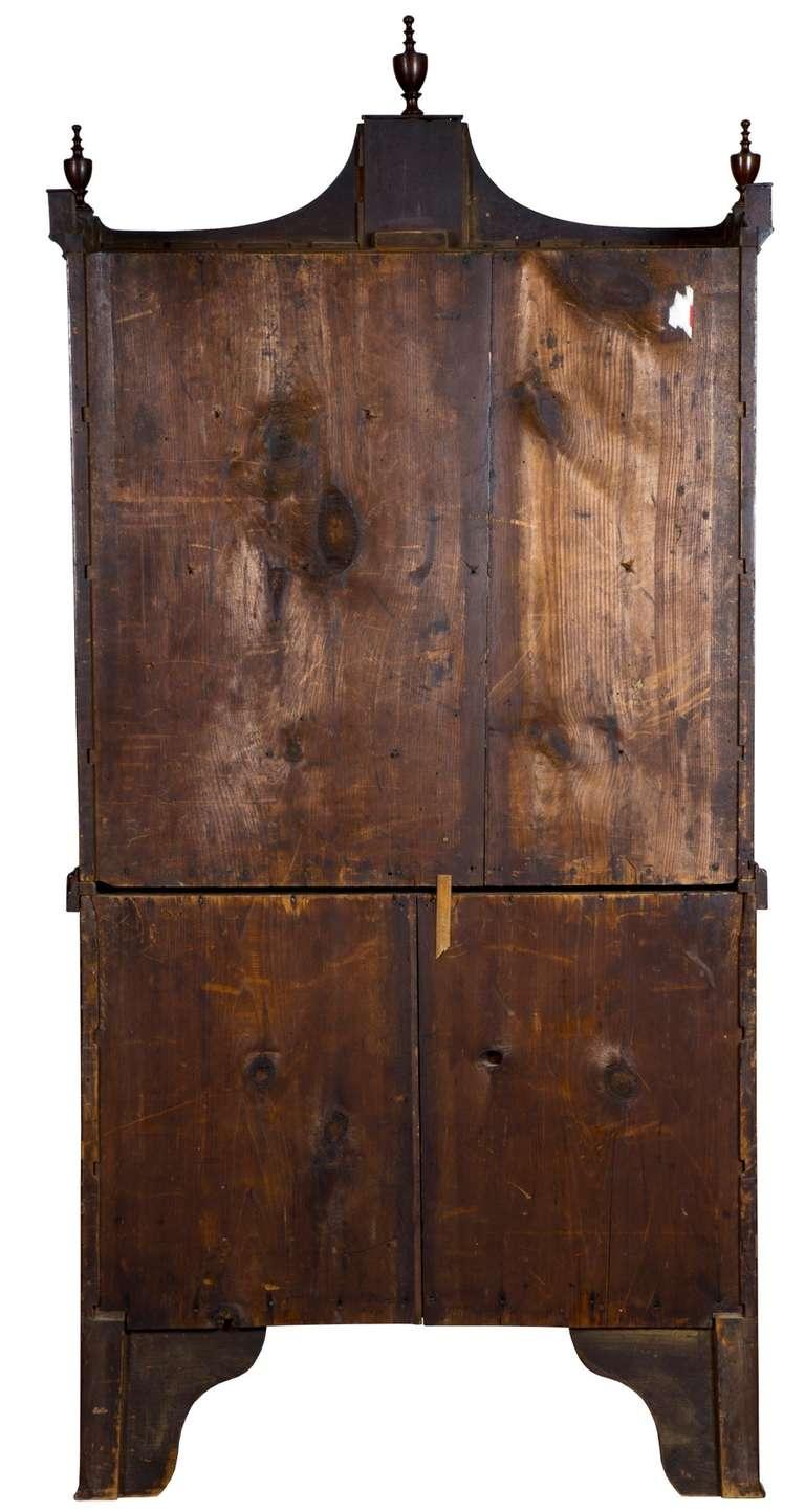 small inlaid mahogany federal secretary desk salem circa 3