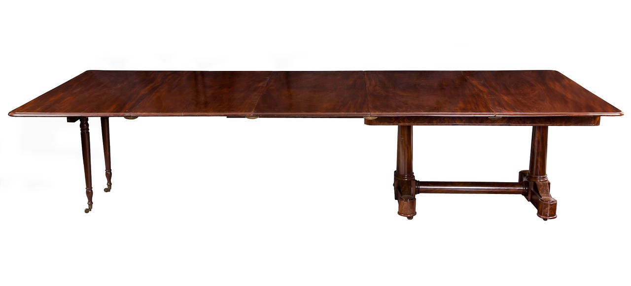 Federal Classical Extension Conference Or Dining Table Ny Duncan Phyfe Circa 1830 For