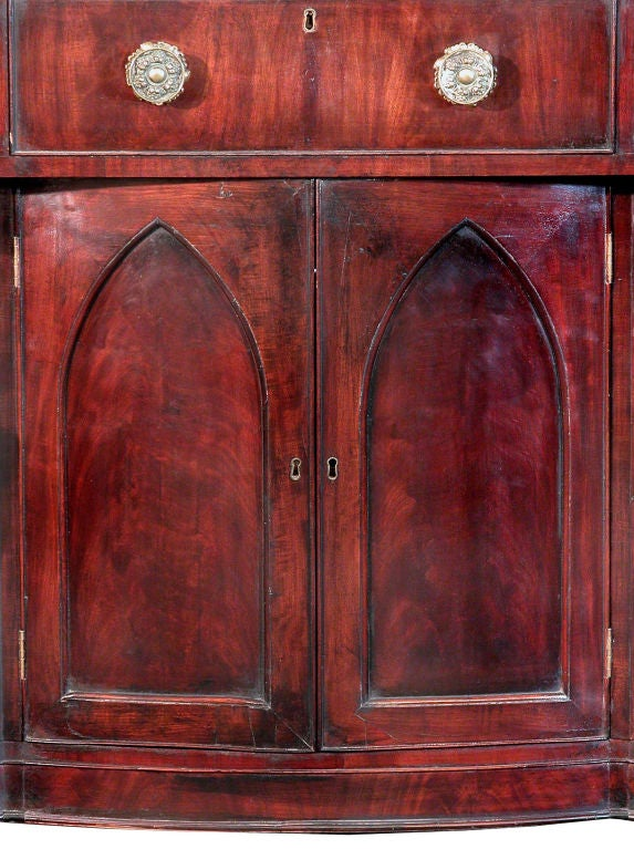 American Monumental Mahogany Neoclassical Sideboard, Baltimore For Sale