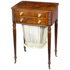 Classic Work Table with Original Brasses